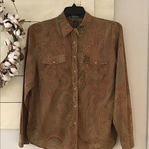 Ralph Lauren shirt XL 100% Cotton